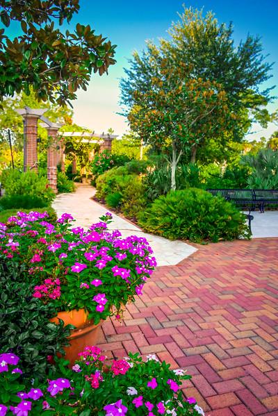 """ETC-3461-WPP1690  """"Pathway to Rose Garden"""""""