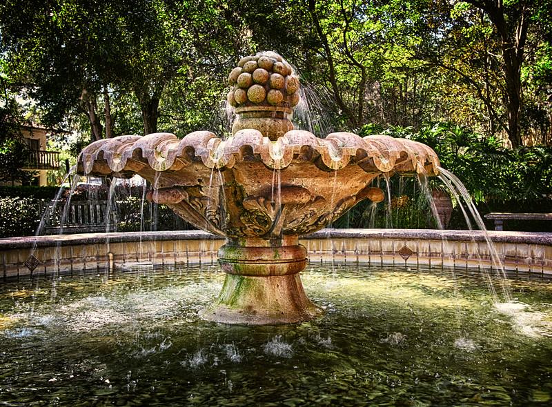 """ETC-3274  """"Sunlit Fountain"""""""