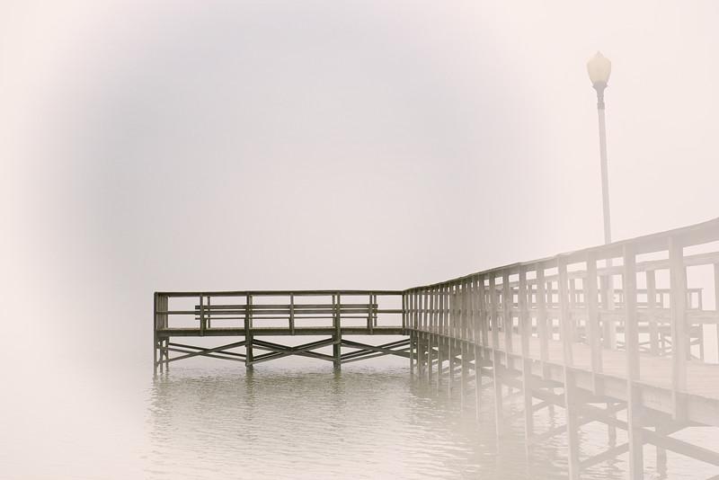 """ETC-3087  """"Fog on the Pier"""""""
