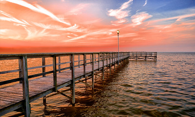 """ETC-3175  """"Pier into the Sunset"""""""