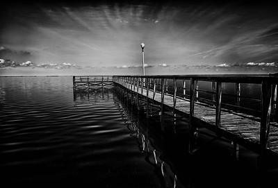 "ETC-3185  ""Cloud Rays Over Dock"""