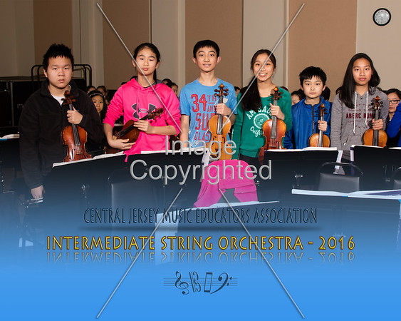 2016 - Intermediate String Orchestra