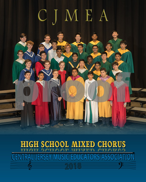 CJMEA 2018 MIXED CHORUS AND TREBLE CHOIR