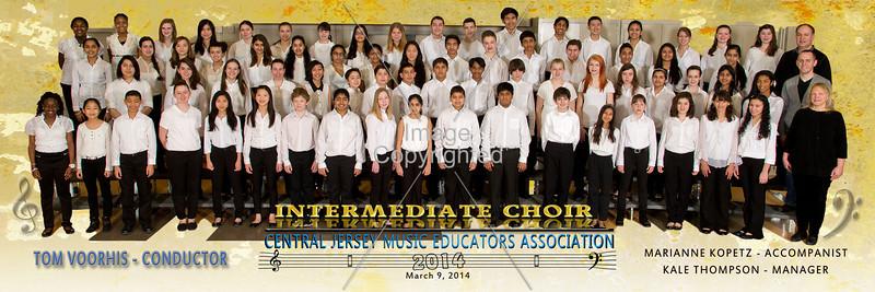 36x12 Intermediate Choir 2014