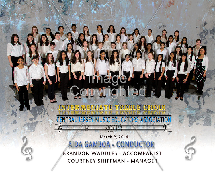 8x10 treble choir