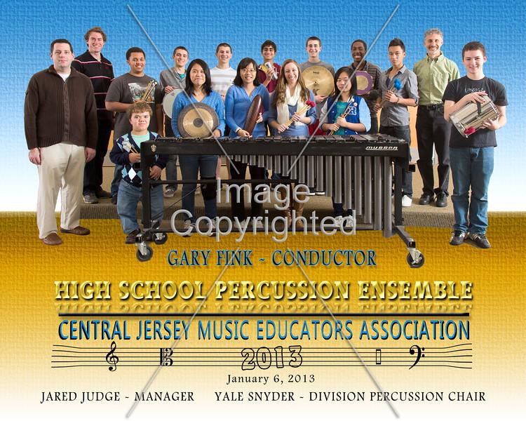8x10 CJMEA 2013 percussion