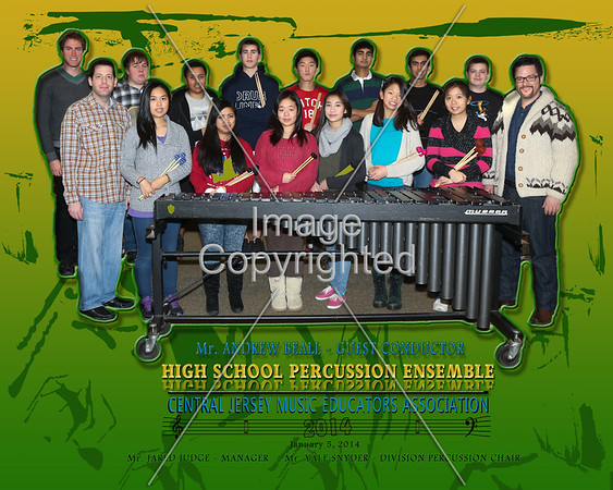 2014 - Percussion -ORCHESTRA
