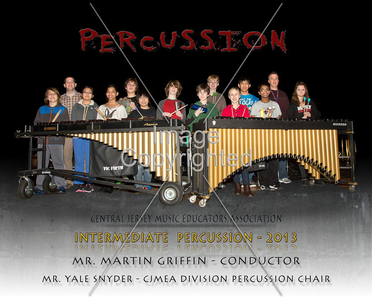 8x10 IM PERCUSSION 2013-