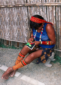 KUNA LADY - SAN BLAS ISLANDS, PANAMA