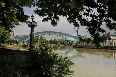 PEACE BRIDGE - MTKVARI RIVER