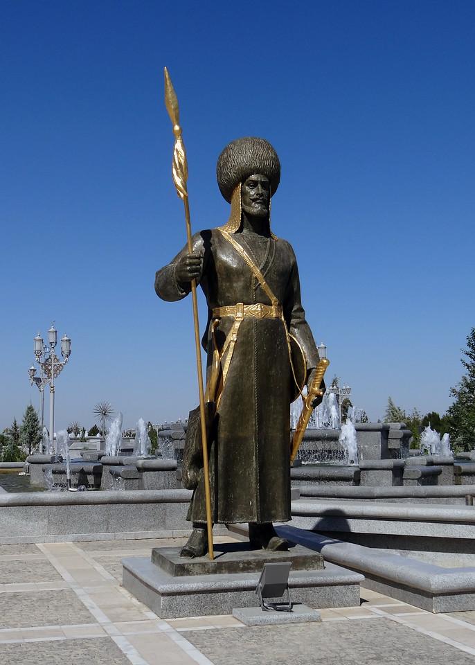 INDEPENDENCE MONUMENT - ASHGABAT