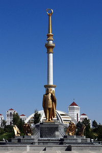 INDEPENDENCE MONUMENT - ASHGABAT