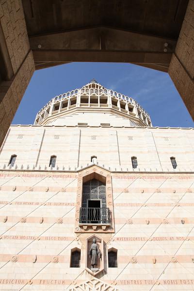 Church of the Annunciation in Nazareth