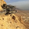 Top of tram at Masada