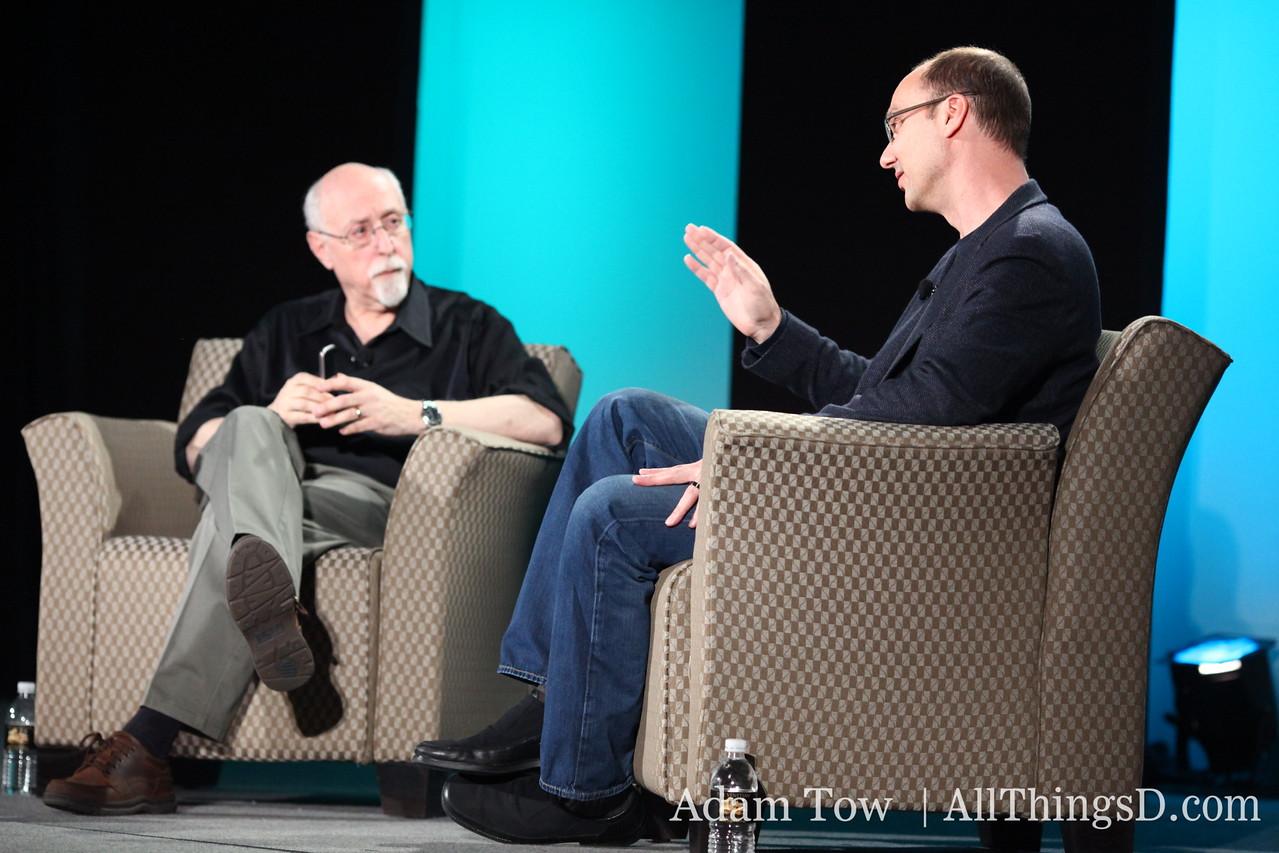 Google VP of Engineering, Andy Rubin.
