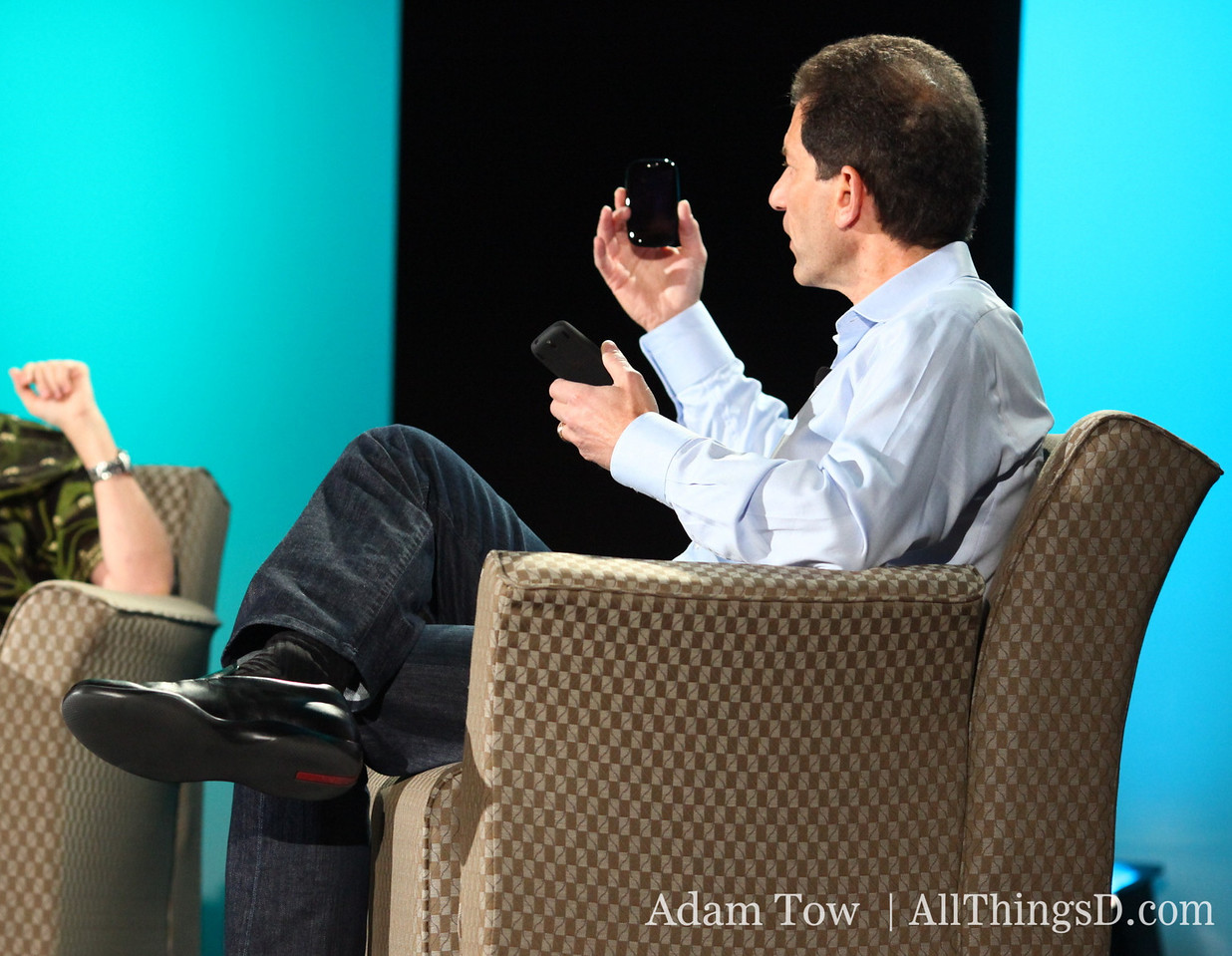 CEO Jon Rubinstein talks about the future of Palm and webOS with Kara Swisher.
