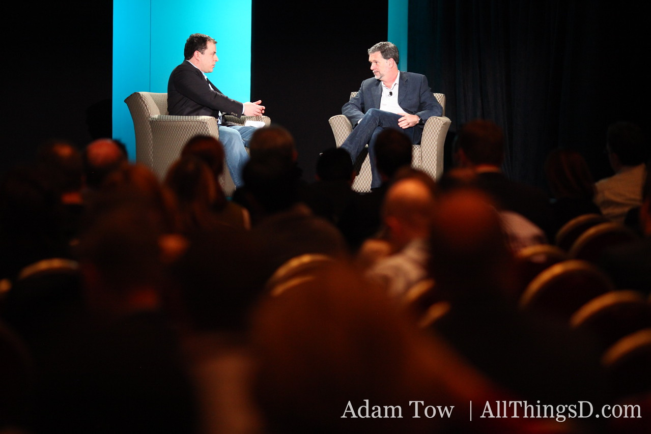 First up at All Things Digital's CES event: MediaMemo's Peter Kafka and Netflix CEO Reed Hastings.