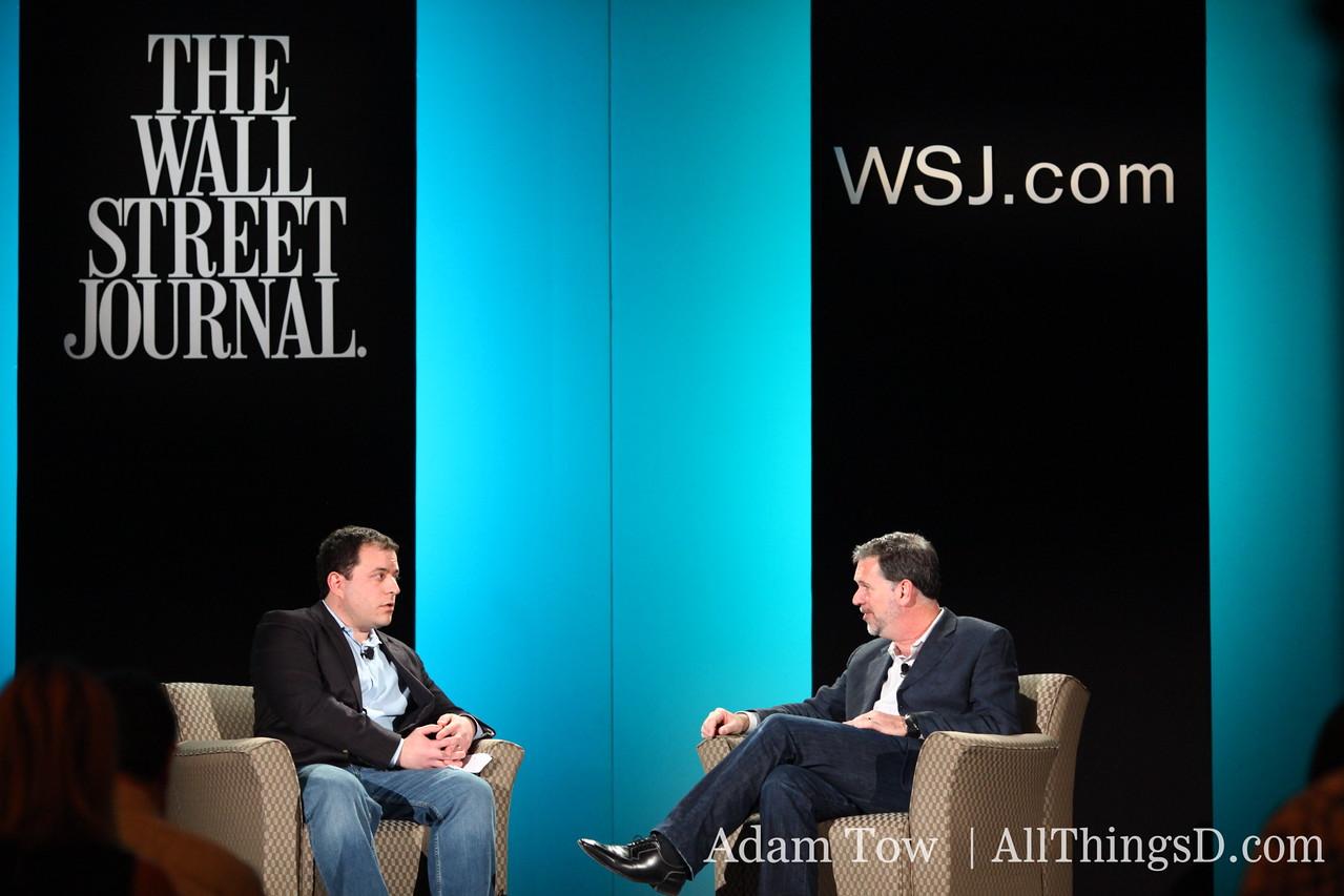 All Things Digital's Peter Kafka interviews Netflix CEO Reed Hastings.