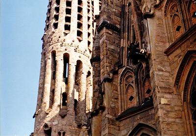 Antoni Gaudí  - Sagrada Familia Detail