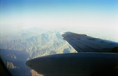 FLYING HOME OVER PAMIR