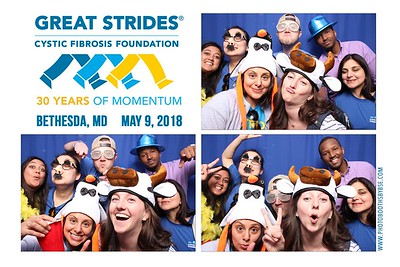Cystic Fibrosis Foundation Great Strides Bethesda 2018 Photo Booth