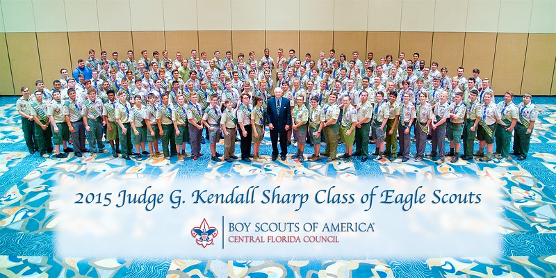 2015 Judge G. Kendall Sharp Eagle Scout Class
