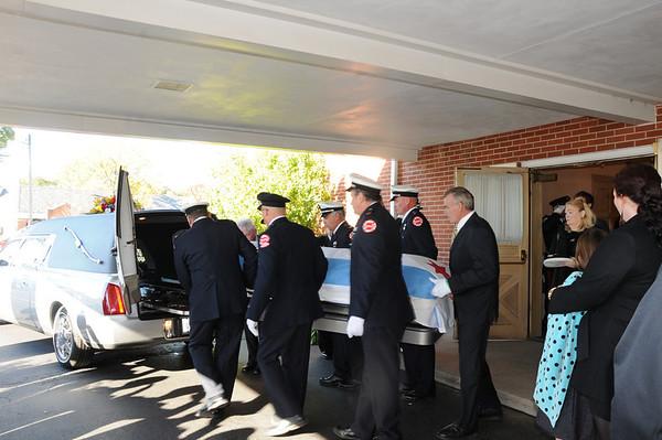 2012-10-09, Lieutanant Flahive Funeral