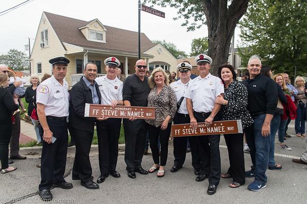 2018-09-08 McNamee Street Sign Dedication