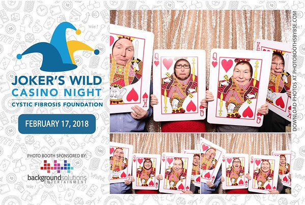 Cystic Fibrosis Foundation Joker's Wild Casino Night 2018