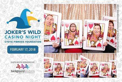 Cystic Fibrosis Foundation Joker's Wild Casino Night 2018