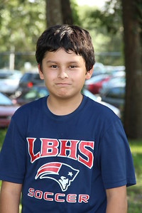 Headshots CFYFL Altamonte Patriots - Fall 2013