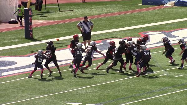 Patriots on defense