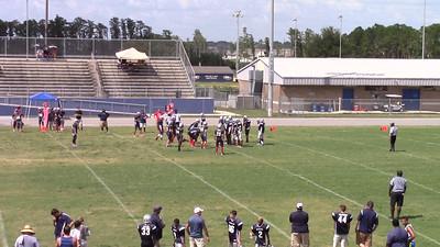 Patriots on defense b