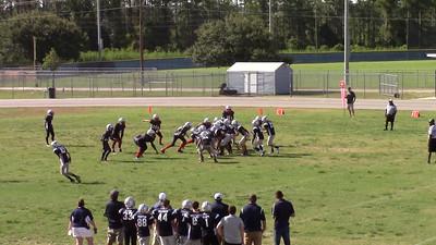 Pats on defense  - Thomas tackle