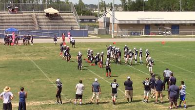 Patriots on defense c