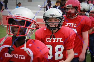 CFYFL Game 1 vs Knights - Spring 2013