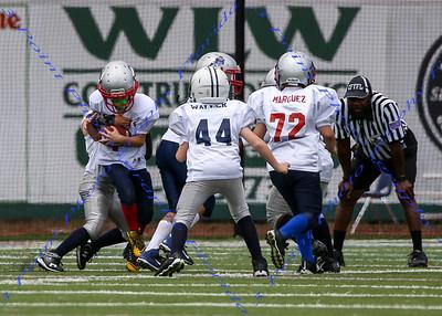 CFYFL JM Altamonte Patriots vs. Falcons, April 16, 2016, home game, win 42-0