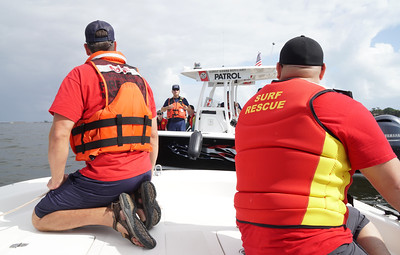 MBVFD Two Boat Training