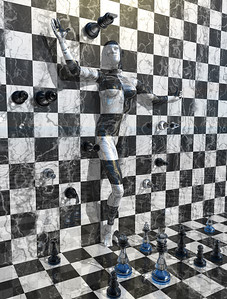 Chess on the wall