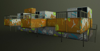 Container Grandstand