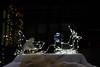 Nighttime lights in Geneva in December