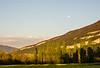 Colza Field, Moon & Salève