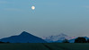 Full moon with Le Môle & Mt. Blanc