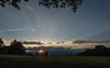 Sunset from near Ch. Machéry