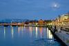 Lakeshore at Sunset 01_DSC0377_DSC0378 (2006-04-12)