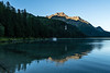 Sunrise photos from the shore of lake Sils (Lej da Segl) in Sils-Maria.