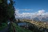 Hike along Le Bisse du Milieu to Planchouet