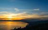 Sunset from Grandvaux