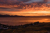Sunset photos Lavaux vineyards (looking out over lake Geneva)