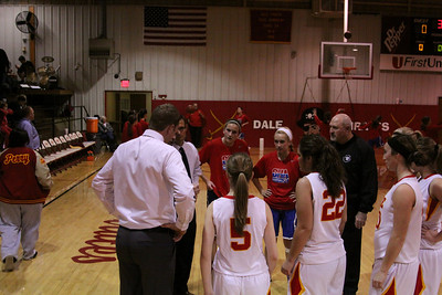 CHA Girls at Dale - December 14, 2012